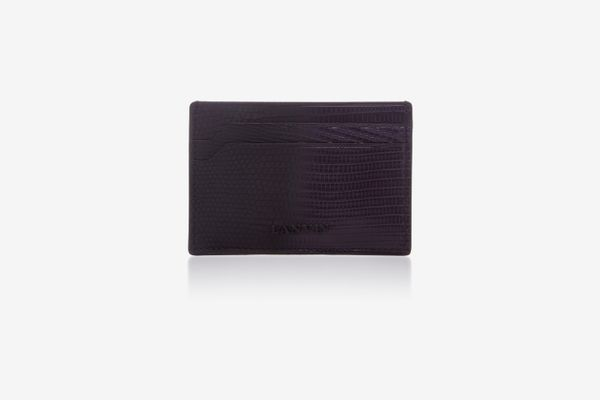 Lanvin Lizard Card Case