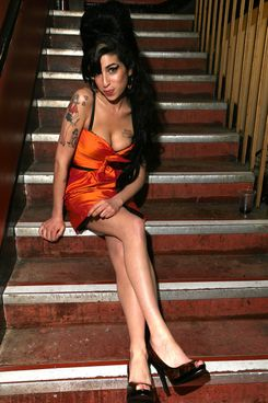 Looking Back At Amy Winehouses Inimitable Style