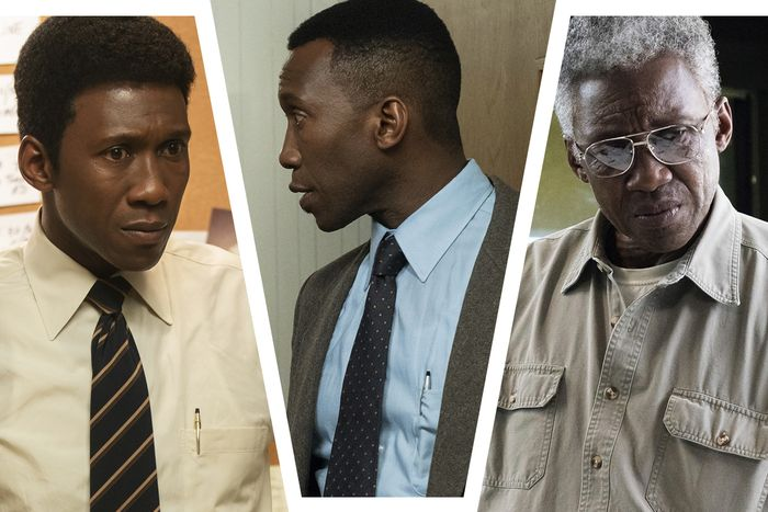 Mahershala Ali times three.