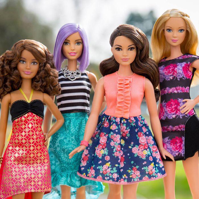 Barbie's got superpowers.