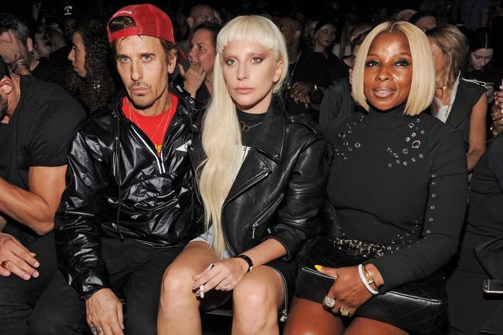 Steven Klein, Lady Gaga, and Mary J. Blige.