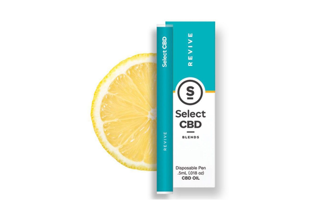 Select CBD Focus Revive Lemon CBD Vape Pen