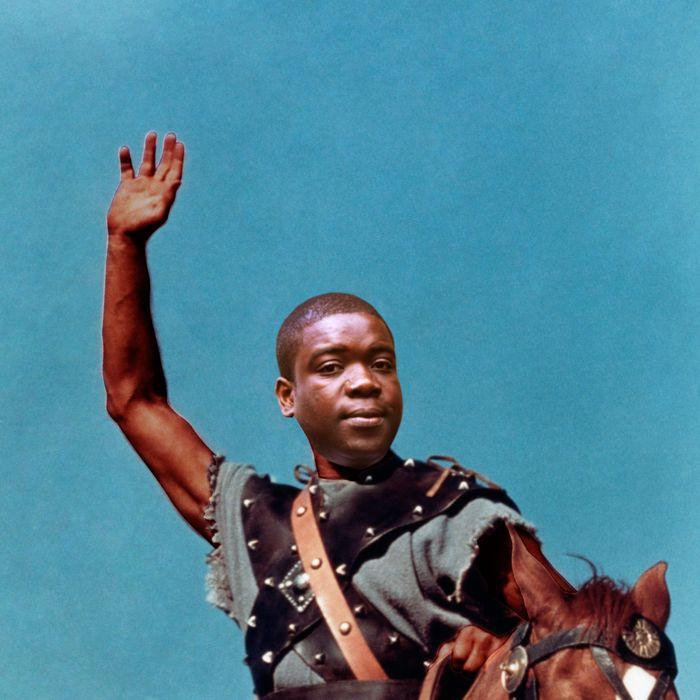 1960 --- Kirk Douglas in Spartacus --- Image by ? CinemaPhoto/Corbis