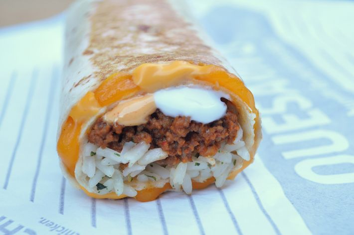 "Taco Bell calls itself ""a game changer in feeding customer's revolutionary cravings."""