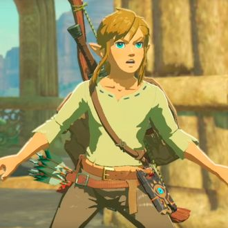 everyone is thirsty for link from the legend of zelda