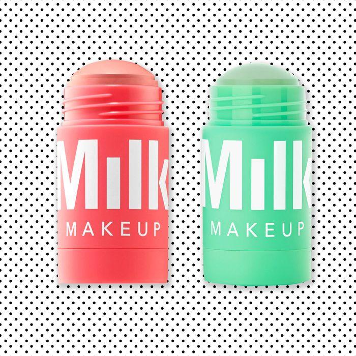 Milk Makeup Watermelon and Matcha masks.
