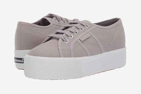 Superga 2790 Acotw Platform Sneaker, Dove Gray