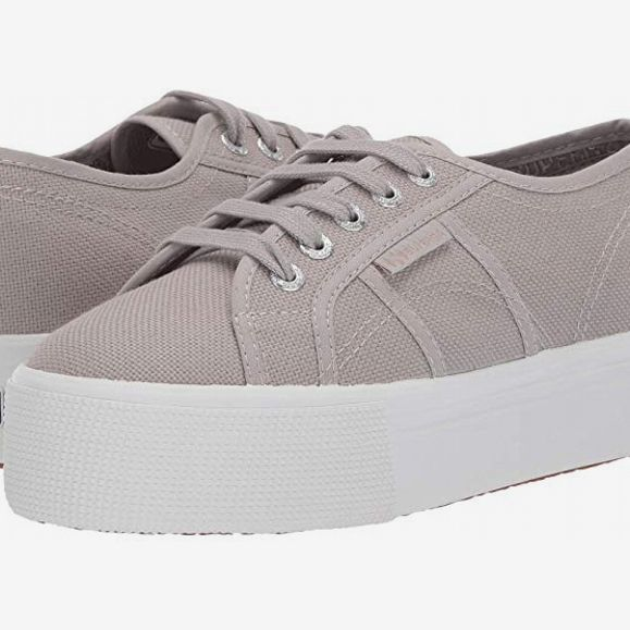 Superga 2790 Acotw Platform Sneaker, Dove Gray - strategist best superga dove grey platform lace up sneakersneaker