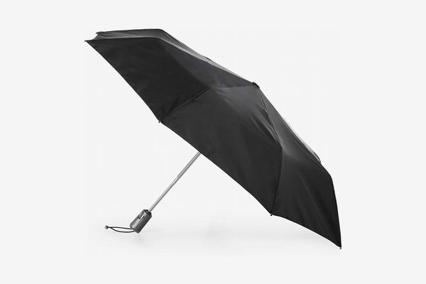 Dark Department Of Plants Automatic Open Folding Compact Travel Umbrellas For Women