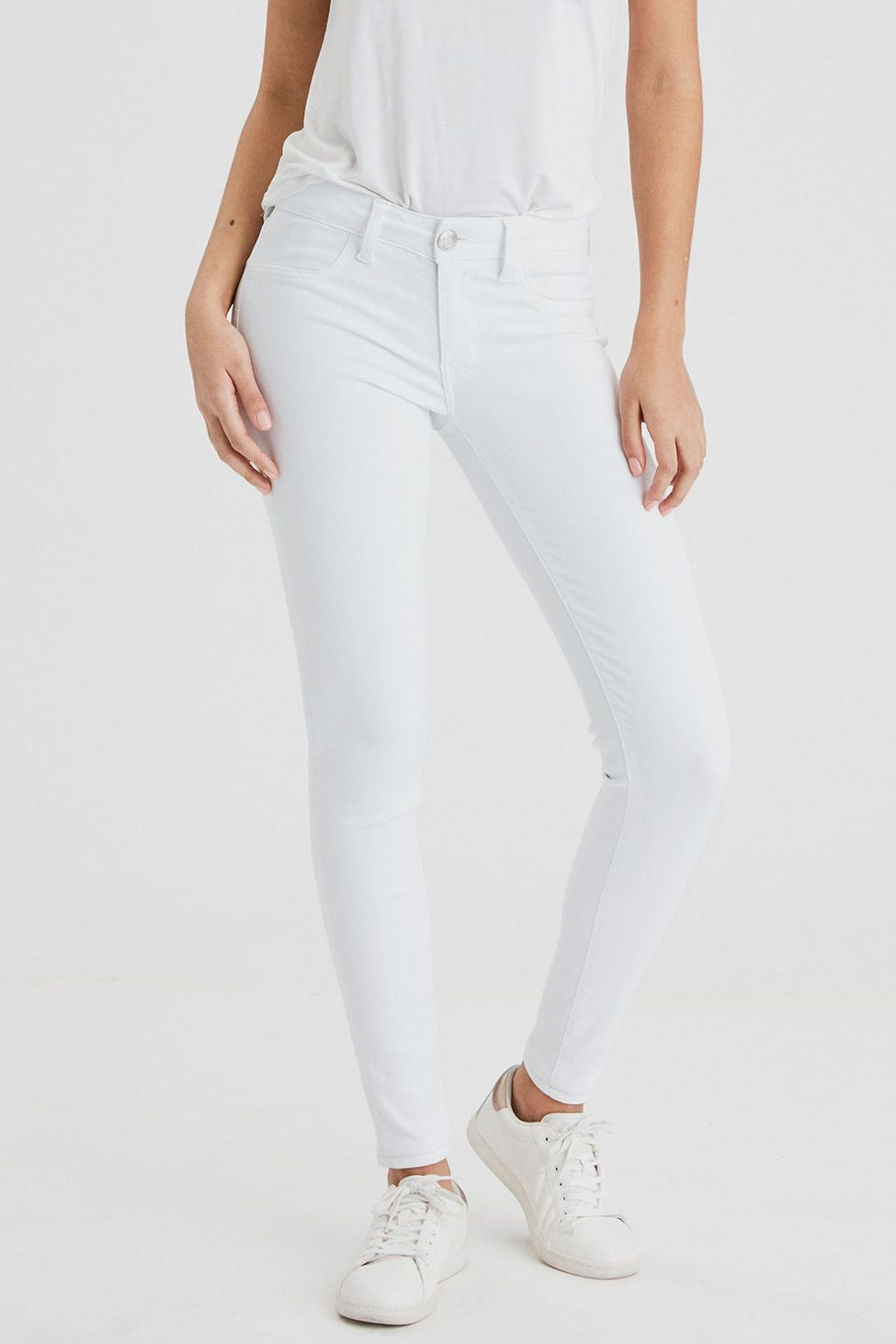 f16e5cc19b119 Best white jeans that are leggings. AE Ne(x)t Level Jegging
