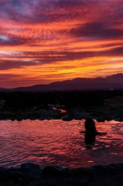 Private Hot Spring Sunset for Two