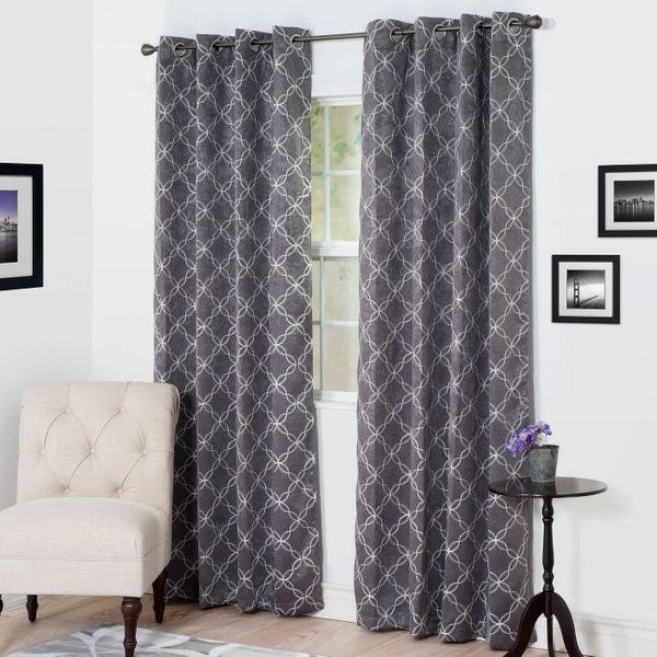 Yorkshire Home Myra Room Darkening Curtain Panel