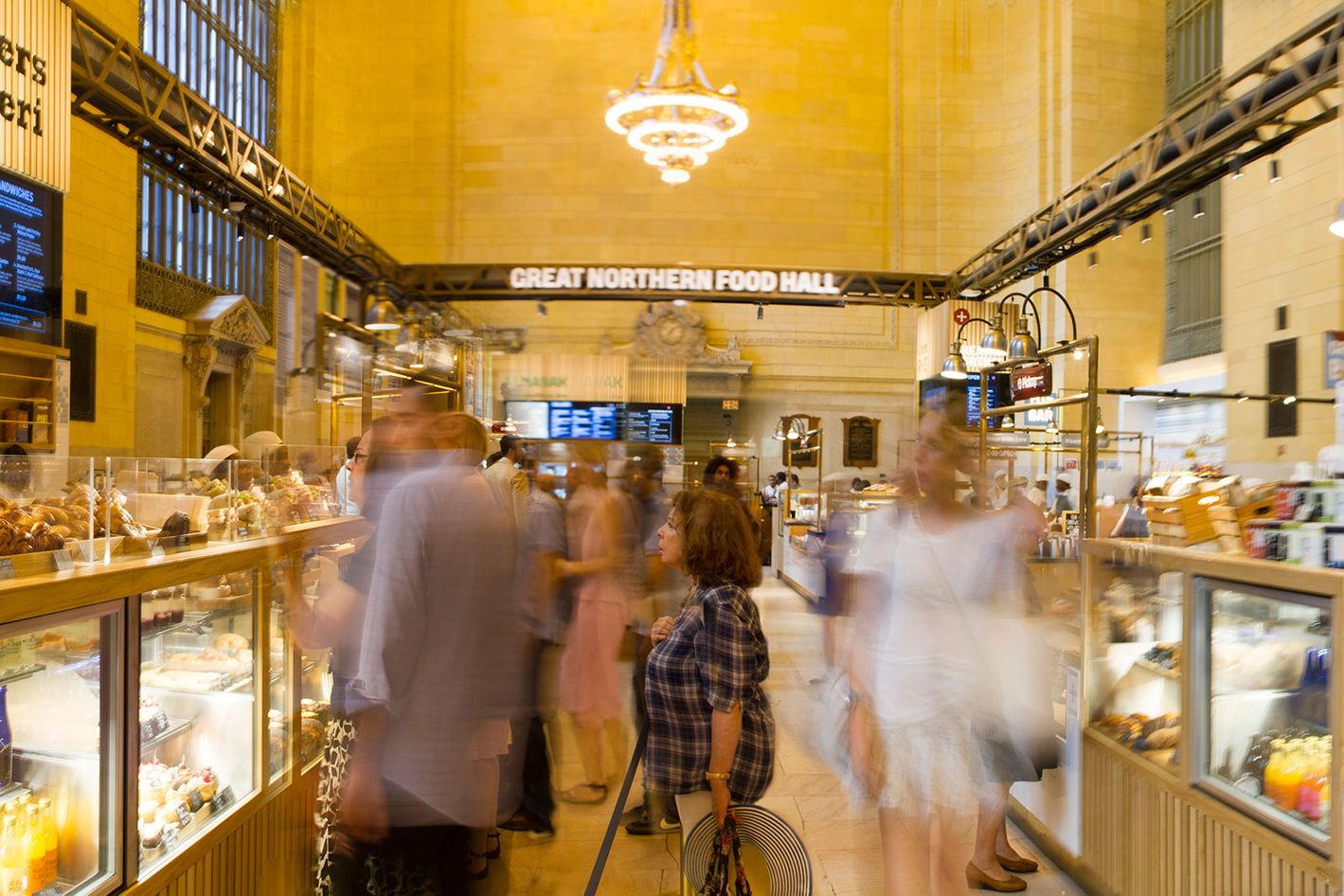 Great Northern Food Hall new york restaurant review: great northern food hall