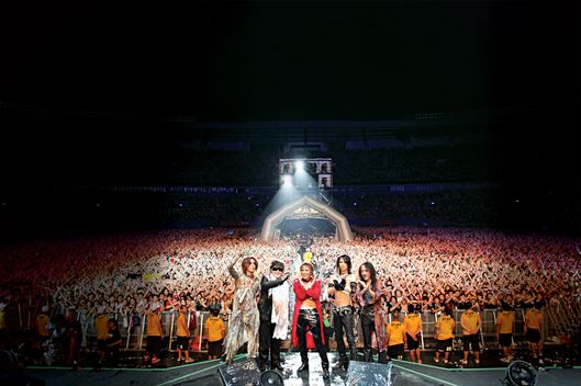 X Japan At The Summer Sonic Festival In Japan, 2011.