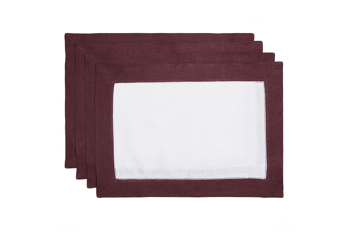 Sferra Filetto Placemats, Set of Four