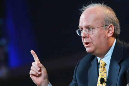 SAN FRANCISCO - OCTOBER 21:  Karl Rove, former Deputy Chief of Staff and Senior Advisor to U.S. President George W. Bush, speaks during a panel discussion at the 2008 Mortgage Bankers Association Conference and Expo October 21, 2008 in San Francisco, California. The annual Mortgage Bankers conference runs through October 22.  (Photo by Justin Sullivan/Getty Images) *** Local Caption *** Karl Rove
