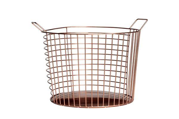 Large Metal Wire Basket