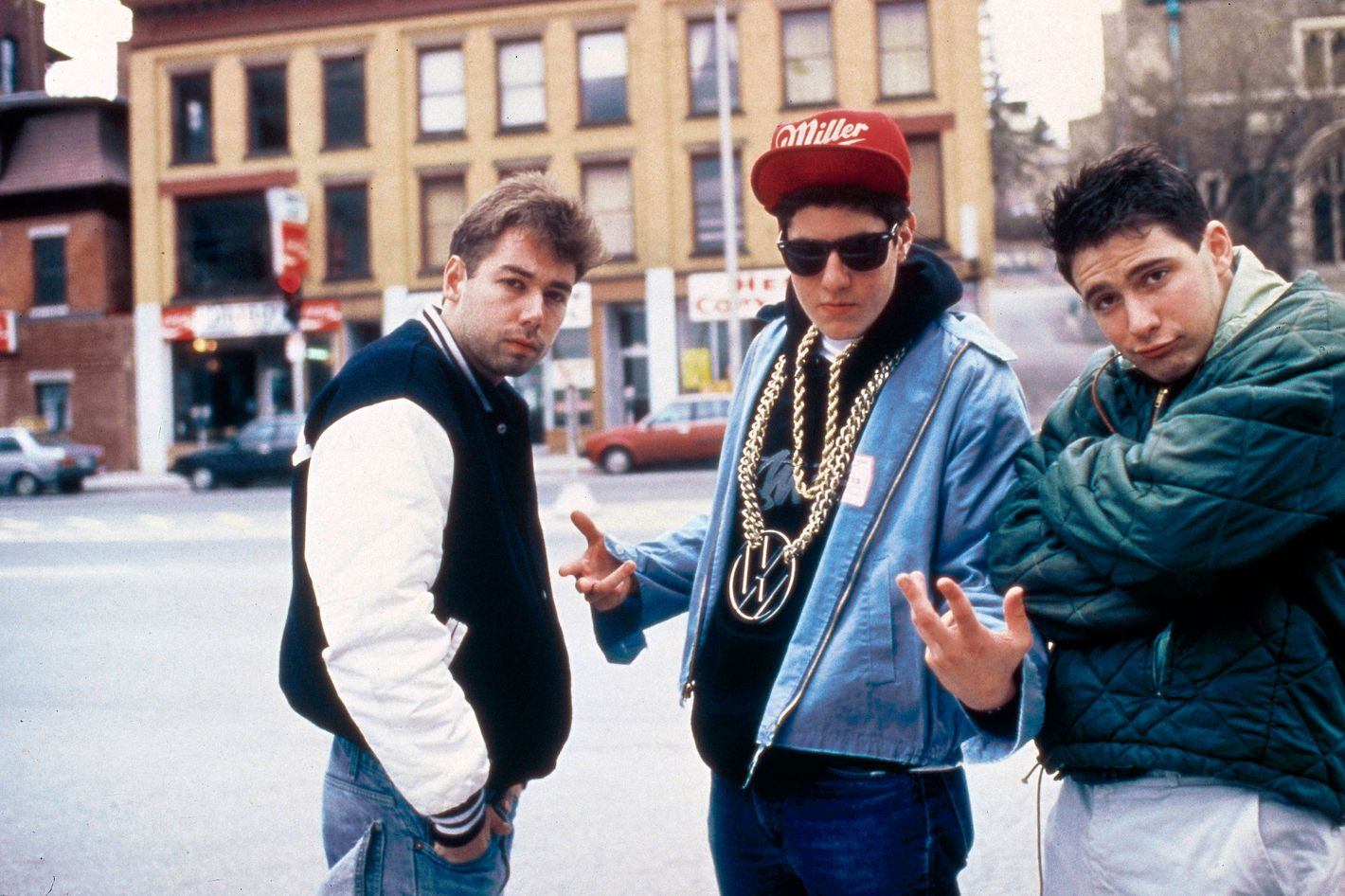 Cover art for the 1989 album was shot at the corner of Ludlow and Rivington.
