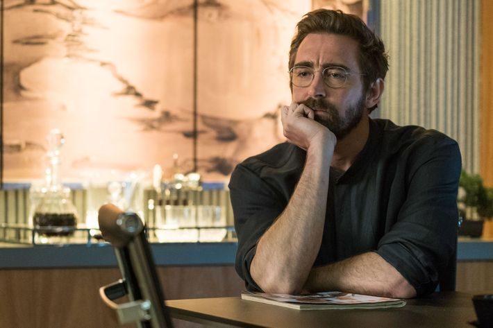 Lee Pace as Joe MacMillan - Halt and Catch Fire _ Season 3, Episode 3  - Photo Credit: Tina Rowden/AMC