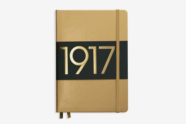 Leuchtturm1917 Medium Hardcover Notebook, Gold
