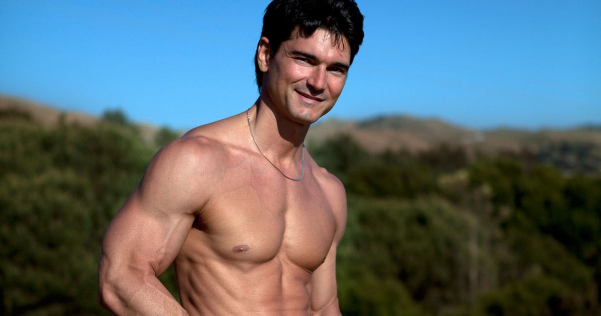 This Male Model Has Appeared on More Romance Novel Covers Than Fabio