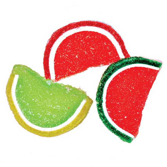 "<b>Gummy Fruit:</b>    <b><a href=""http://www.sugarflyalley.com/"">Sugarfly Alley</a></b>    <i>320 Franklin Ave., Bedford-Stuyvesant; 347-404-7050</i>    Fifties-style penny-candy glass jars line Stacey Desmond's narrow shop, which is frequented mostly by locals, and mostly adults, who appreciate classics like these fruit-gel slices ($3 a quarter-pound) in a Cézanne-esque assortment."
