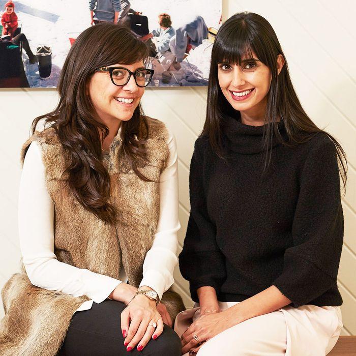 Founders Karla Gallardo and Shilpa Shah