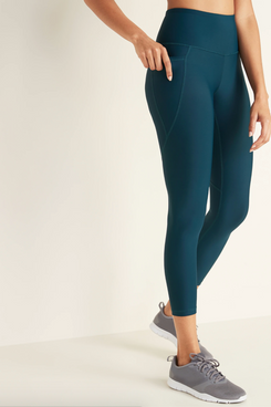Old Navy High-Waisted Elevate Powersoft 7/8-Length Side-Pocket Leggings