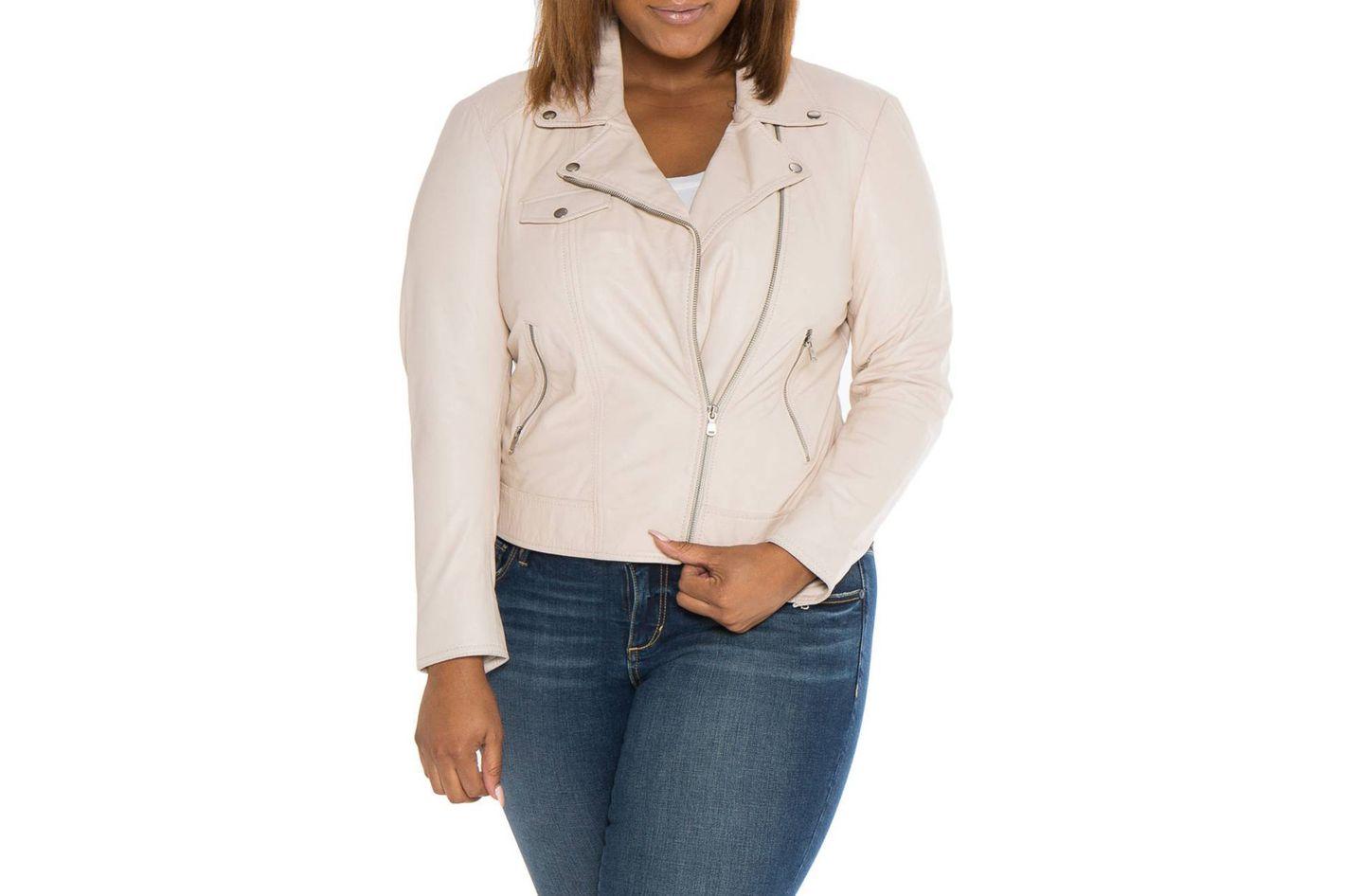 SLINK Jeans Crop Moto Jacket