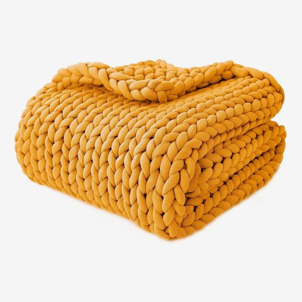 YnM Knitted Weighted Blanket
