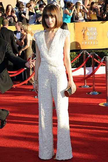 Rose Byrne== 18th Annual Screen Actors Guild Awards - Arrivals== Shrine Auditorium, Los Angeles, CA== January 29, 2012== ?Patrick McMullan== Photo - ANDREAS BRANCH/PatrickMcMullan.com==