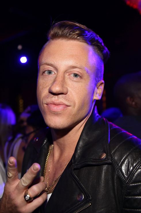 Macklemore attends the 2013 VMA After Party at PhD (Dream Downtown Hotel Rooftop) on August 25, 2013 in New York City.