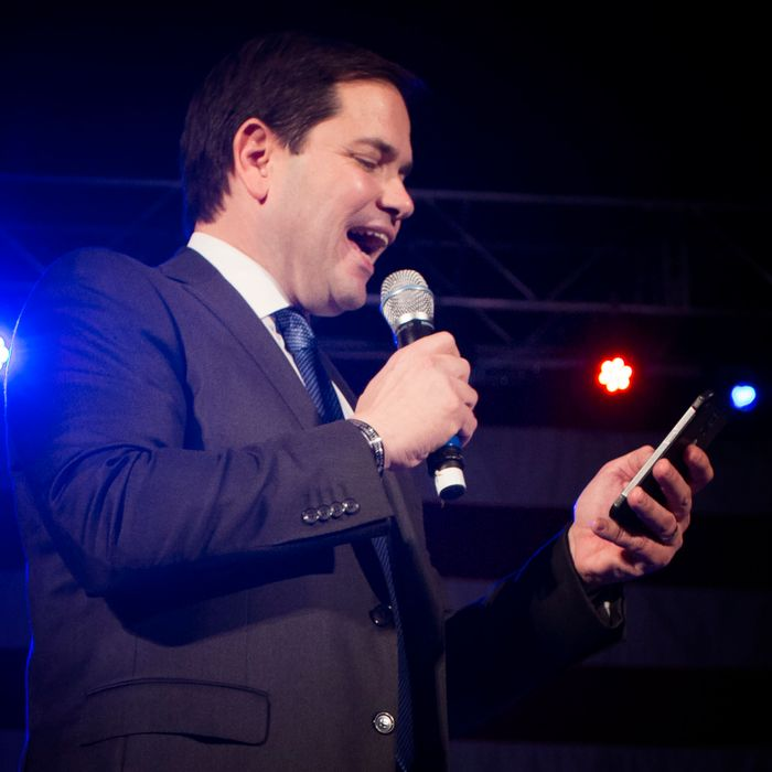Marco Rubio Campaigns in Oklahoma City on Road to Super Tuesday