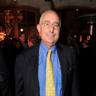 Ben Stein attends Larry King Live Wrap Party held at at Spago Beverly Hills on December 16, 2010 in Beverly Hills, California.