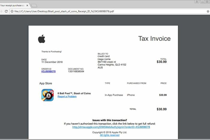 Hackers Use Holidays for Fake Amazon, Apple Receipt Attacks