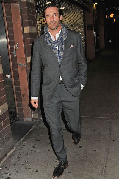 Anna Wintour Orders One Baked Potato at Gallagher's; Jon Hamm Goes to the Rickey