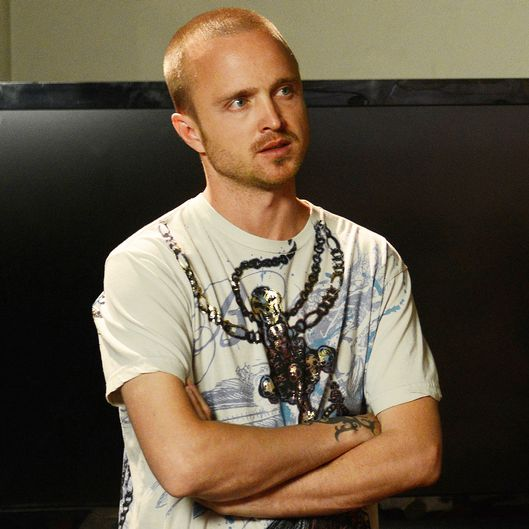 "Jesse Pinkman (Aaron Paul) - Breaking Bad_Season 5, Episode 8_""Gliding Over All"" - Photo Credit: Ursula Coyote/AMC"