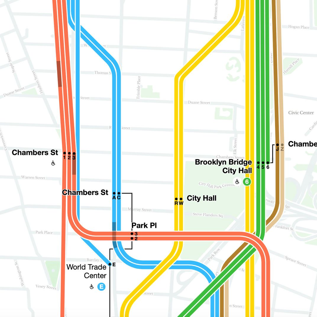 Map Of Nyc Subway With Streets.First Look New York S Digital Subway Map Comes Alive Today