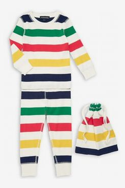 Hudson's Bay Company Kid's 2-Piece Multistripe Pajama Set