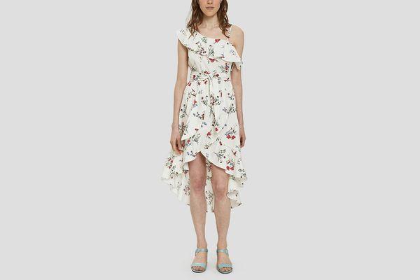 Farrow Julia Floral High-Low Dress