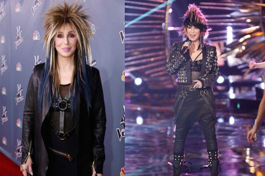 "THE VOICE -- Episode 419B ""Live Finale"" -- Pictured: Cher."
