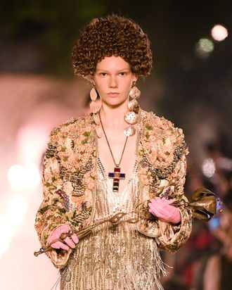 2a4cfc60e5d Gucci s Cruise 2019 Show Had a Fascination With Death