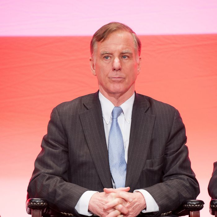 NEW YORK, NY - FEBRUARY 11: Howard Dean attends the Symposium to mark the 33rd Anniversary of the Iranian Revolution at The Waldorf=Astoria on February 11, 2012 in New York City. (Photo by Dave Kotinsky/Getty Images)