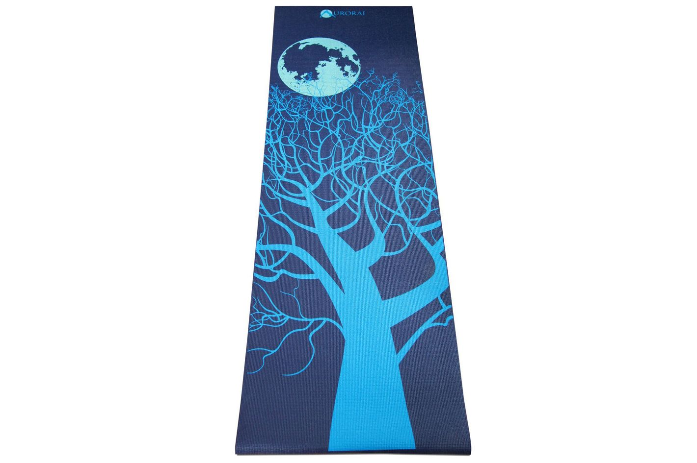 "Aurorae Printed Extra Thick 5mm and 72"" Long Premium Eco Safe Yoga Mat"