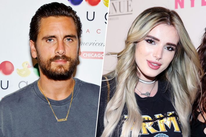 Scott Disick and Bella Thorne dating as rumors of alcoholism intensify