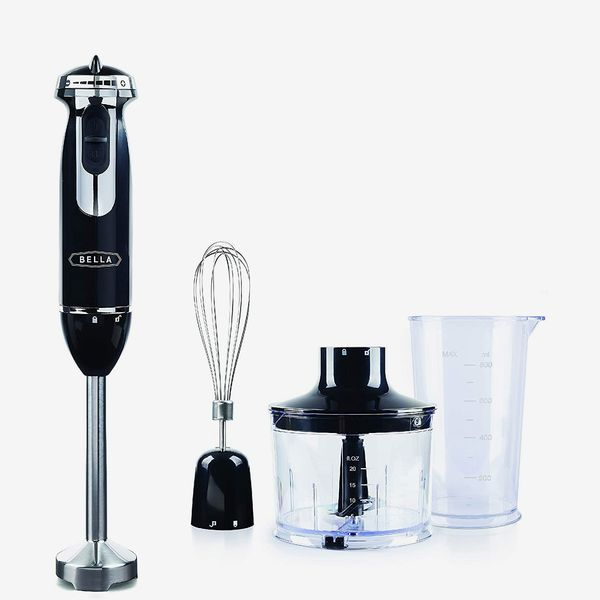 Bella Multi-Use 10-Speed Immersion Blender with 6 Attachments