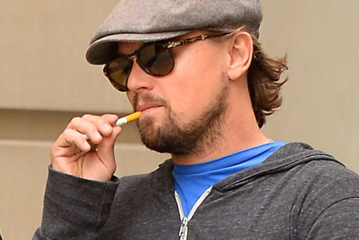 Edward Norton and Leonardo DiCaprio sighting on October 22, 2013 in New York City.