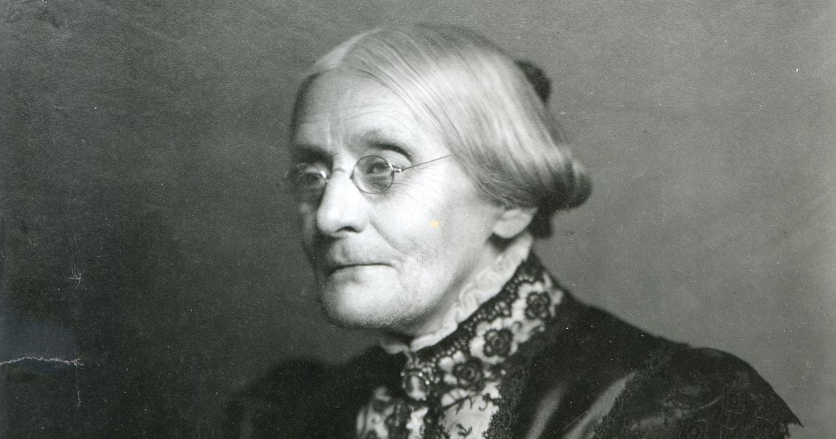 a biography of susan b anthony a womens rights activist