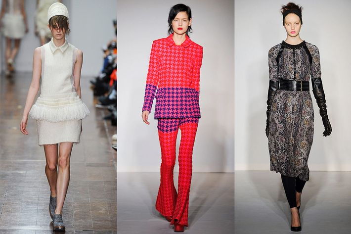 Looks by Simone Rocha, House of Holland, and Clements Ribeiro.