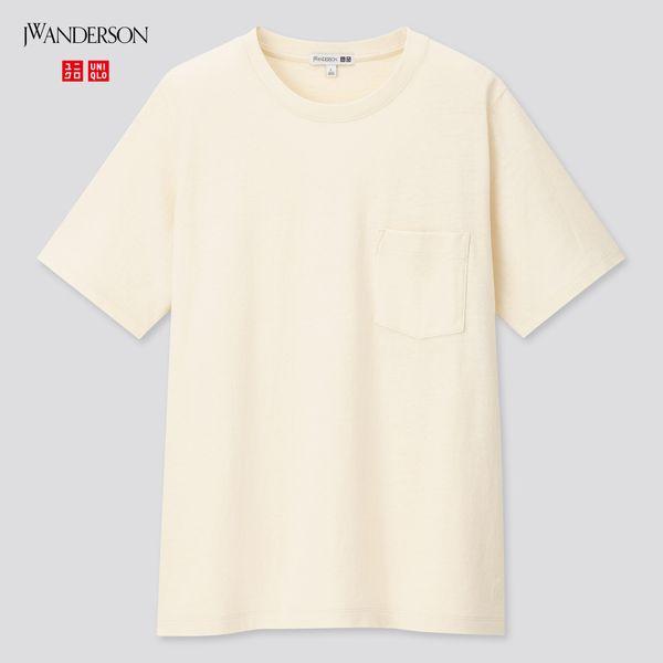Uniqlo Women Linen Cotton Short-Sleeve T-Shirt (J.W. Anderson)